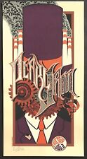 Mint Pearl Jam Chicago 2007 Klausen Signed Purple A/P Poster 52/100