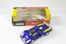 SOLIDO #197 - Ferrari 512 M Sunoco-Bleu-A/A