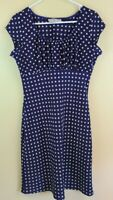Vintage 90's Jody California Sexy Pin-up Polka-dot Made In USA Size M  No Doubt