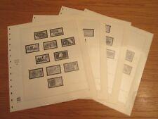 SAFE dual Nachtrag / Vordruckblätter BRD 1986 S. Nr. 76-79 gebraucht TOP (1243)
