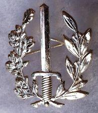 Insigne Badge Belge métal POLICE Collector Obsolète Belgique Belgium