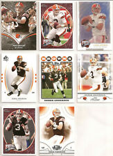 8 Diff Derek Anderson Cards- Oregon State Beavers, Cleveland Browns