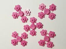 LEGO 20 x flower heads. PINK flower heads. Brand new. lego minifigure accessory