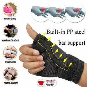 Thumb Spica Splint Brace Wrist Suppot Stabiliser De Quervains Tendonitis Sprains