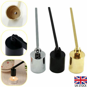 Stainless Steel Candle Snuffer Wax Extinguisher Candle Safe Wick Snuffer Durable