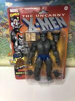 Marvel Legends Uncanny X-Men ~ Retro Gray BEAST Figure~ 2020 Exclusive ~ IN HAND