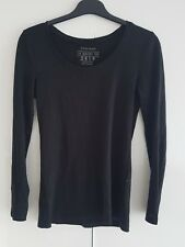 Ladies Black Top/blouse By ATMOSPHERE SIZE 6 UK