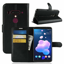 For HTC U12 Plus Case PU Leather Wallet Case Card Slot Folio Cover For HTC U12+