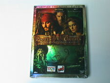 PIRATES DES CARAIBES  LE SECRET DU COFFRE MAUDIT  EDITION  COLLECTOR 2 DVD NEUF