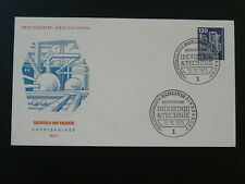 chemistry industry 1975 FDC Germany 78942