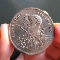 E01501 reproduction monnaie romaine médaillon probus moneta fait main copy