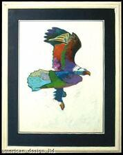 John Nieto, Eagle, Custom Framed Fine Art Serigraph LE MAKE OFFER!  L@@K
