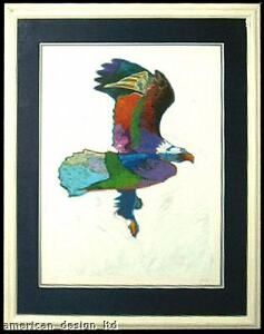 John Nieto, Eagle, Custom Framed Fine Art Serigraph LE MAKE OFFER!  L@@K