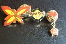 HRC hard rock cafe las vegas floral guitar series 2005 Flower le500 XL fotos