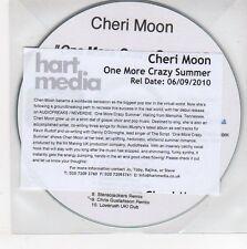 (EG378) Cheri Moon, One More Crazy Summer - 2010 DJ CD