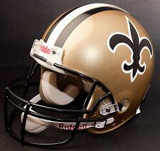 NEW ORLEANS SAINTS 1976-1999 Riddell NFL Full Size REPLICA Football Helmet