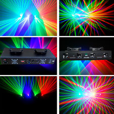 4 lens 250mw RGV DMX disco dj Party laser stage Lighting show equipment projecto