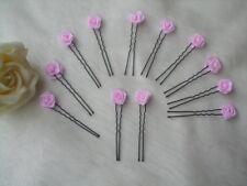 Haarnadeln für Hochzeit/Kommunion - rosa - 12 tlg.