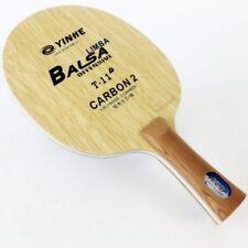 Yinhe Table Tennis Balsa/Limba Carbon Blade T-11+ low 70s gram FL
