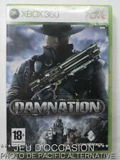 OCCASION: Jeu DAMNATION xbox 360 microsoft game francais action combat deutsch