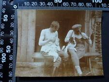 Foto , 1WK Galizien Kameraden posieren mit Hund , 181021-30
