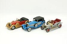 Matchbox SB 1/43 - Set di 3 Modelli con Rotoli e Mercedes