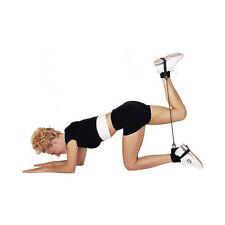 Deuser Shape   Tubing mit Fußschlaufen Gymnastik Widerstandstraining Beintrainer