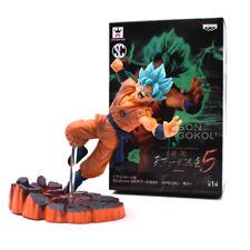 Free Shipping Dragon Ball Z Blue Super Saiyan Goku Son Gokou PVC Action Figures
