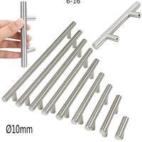 "Ø10mm Stainless Steel Kitchen Door Cabinet T Bar Handle Pull Knob 4"" ~ 16''"