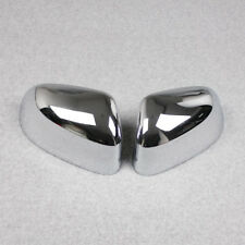 Fit BMW New X3 2018 Chrome Rearview Mirrors side Molding cover trims