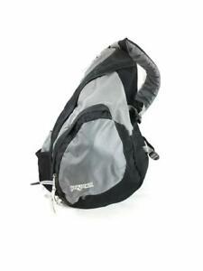 Jansport Gray/Black Sling Crossbody Backpack