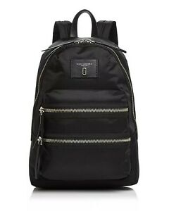 NWT Marc Jacobs The Biker Nylon Backpack ~ Black ~ M0012700