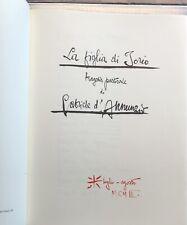 GABRIELE D'ANNUNZIO LA FIGLIA DI IORIO RIPRODUZIONE DEL MANOSCRITTO ED. BESTETTI