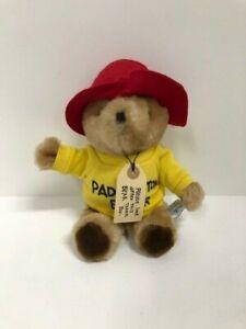 "Vintage 1981 Plush Paddington Bear Eden - Brown Teddy - Yellow Sweatshirt 14"""