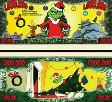 The Grinch  Novelty Dollar with Protector and Free shipping