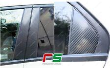 adesivi fiat 500x 500 x montanti porte decal sticker  carbonlook 4D cover tuning