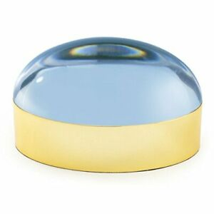 Jonathan Adler - Globo Box - Brass & Blue - Large