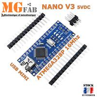 NANO V3.0 ATmega328 16M CH340 ARDUINO compatible   DIY development Board