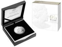 2019 $1 Fine Silver Proof Coin - Double Header - Clark and Rank-Broadley Effigie