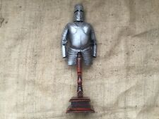 More details for knights armour  display on stand