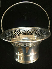 Tiffany & Co Sterling Silver Candy Basket