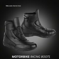 Motorcycle Racing Boots Waterproof Bike Riding Shoes Touring and Urban Boots
