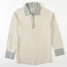 Duluth Double Soft Polo Trim Fit Sweater Sweatshirt Long Sleeve Womens Large L