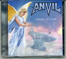 "Anvil ""Legal At Last"" 2020, CD jewel case"