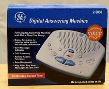 Ge Digital Answering Machine Model 2-9868 date / Time Stamp