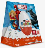 KINDER SURPRISE LARGE BIG EASTER MAXI EGG MARVEL AVENGERS TOY 100g Rare 2021