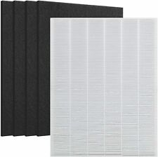 Replace for Winix 115115 Filter + 4 Carbon Filters PlasmaWave Size 21 5300 5500