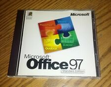 Microsoft Office 97 Standard Edition - Upgrade Version CD-ROM for Windows NT/95