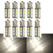 10pcs BA15S 1156 1141 Warm White 4300k 5050-18SMD LED Light Bulb DC12V