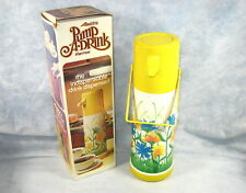 Vintage ALADDIN Pump-A-Drink Hot/Cold Drink Flower Thermos USA
